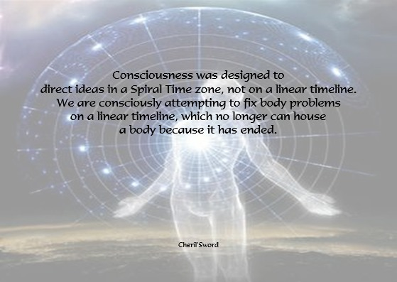 Time Spiral and consciousness
